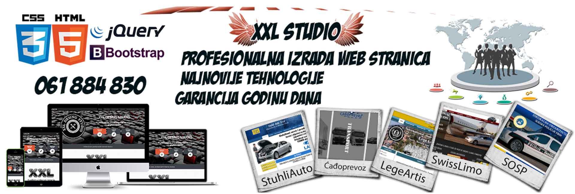 IZRADA WEB STRANICA XXL