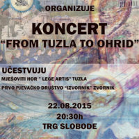 Plakat za koncert 2
