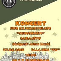 Dizajn plakata za koncert dječijeg hora