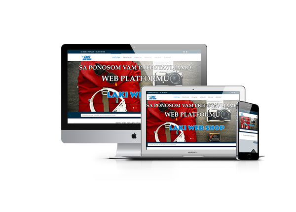 Laki web shop XXL STUDIO TUZLA